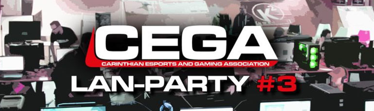 CEGA – LAN-Party #3 (neuer Termin)